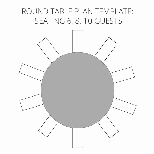 Wedding Table Seating Chart Template Inspirational Wedding Seating Plan Template & Planner – Free Download