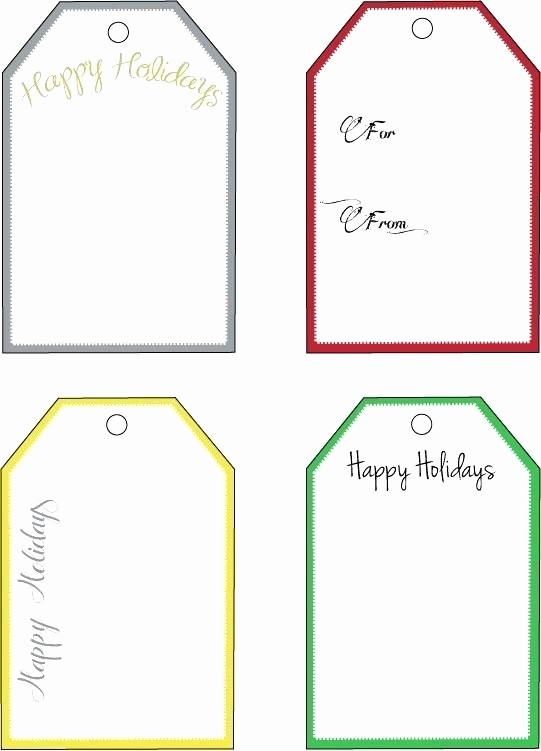 Wedding Tags Template Microsoft Word Lovely T Tag Template Word – Skincense