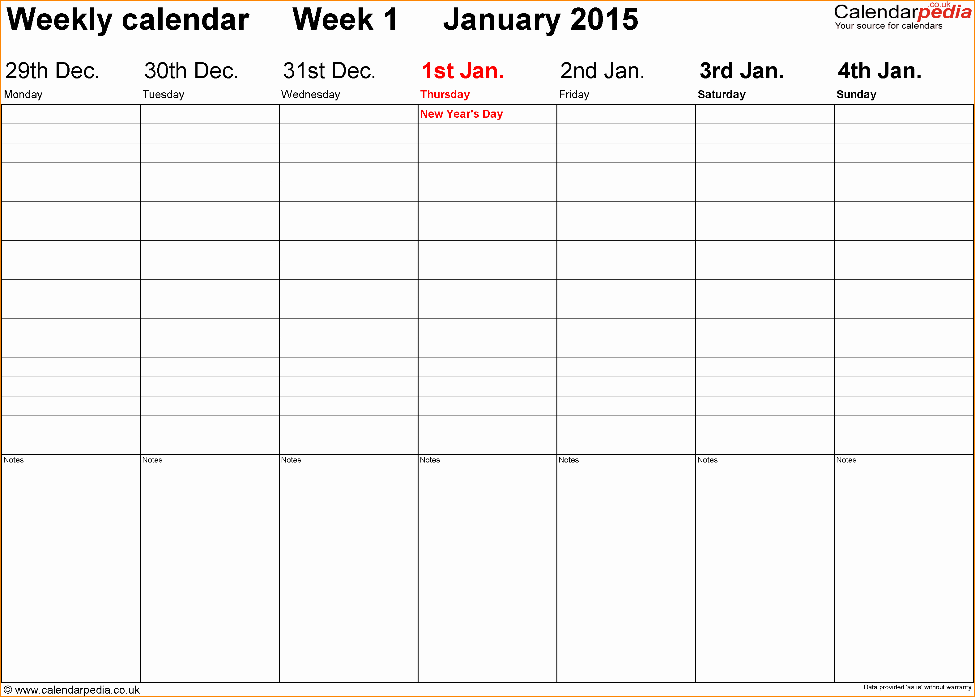 Week by Week Calendar Template Unique 5 Weekly Calendar Template Word