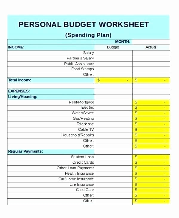 Weekly and Monthly Budget Template Inspirational Bi Monthly Bud Template – Voipersracing