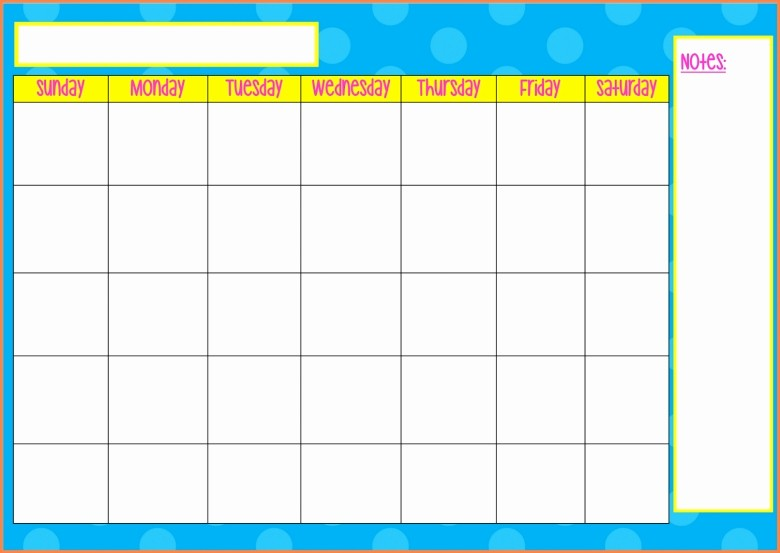 Weekly Calendar Monday Through Friday Best Of Monday Thru Sunday Calendars Free Calendar Template