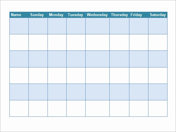 Weekly Chore Chart Template Excel Best Of 10 Sample Chore Chart Templates