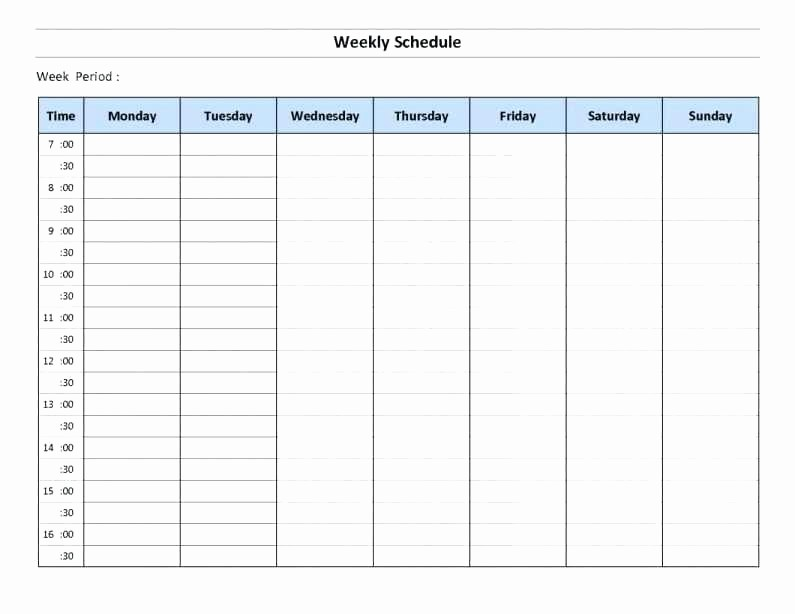 excel employee schedule monthly staff template work schedules multiple