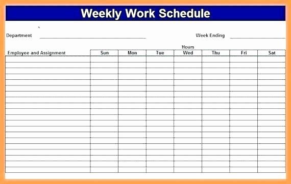 Weekly Employee Schedule Template Excel Beautiful Work Schedule Templates Free Downloads Download Links