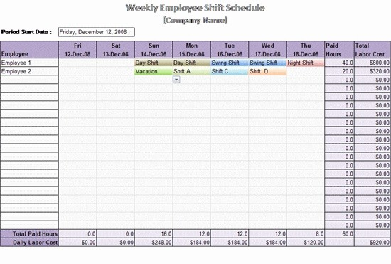 Weekly Employee Shift Schedule Template Luxury Time Management Schedule Template Invitation Template