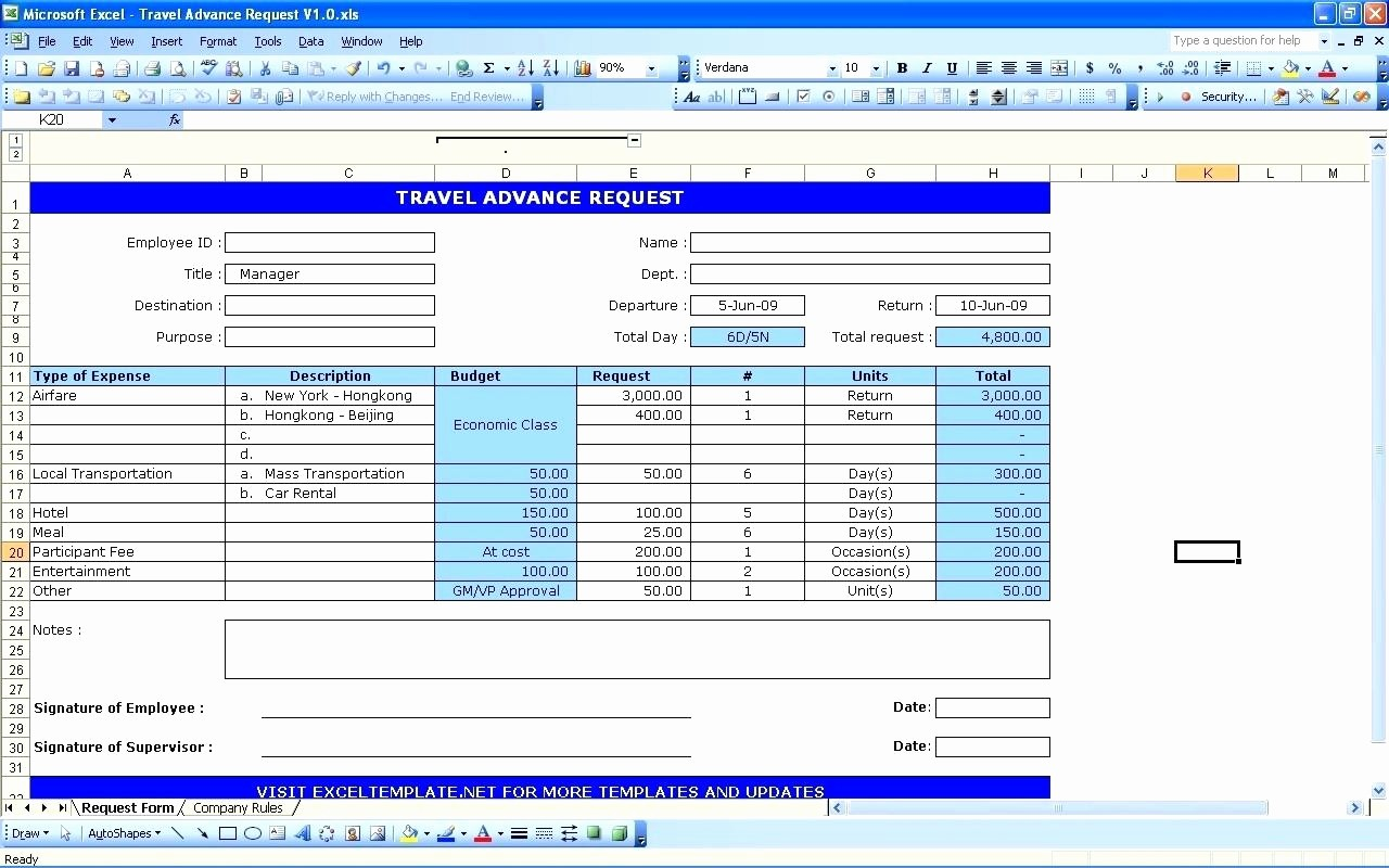 Weekly Expense Report Template Excel New Template Monthly Expense Report Template