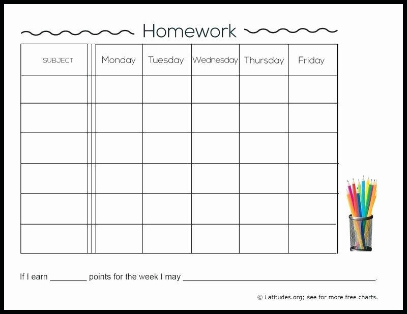 Weekly Homework assignment Sheet Template Best Of Work Log Sheet Absolute Daily Templates Template Excel