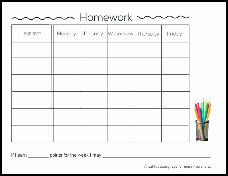 Weekly Homework assignment Sheet Template Best Of Work Log Sheet Absolute Daily Templates Template Excel
