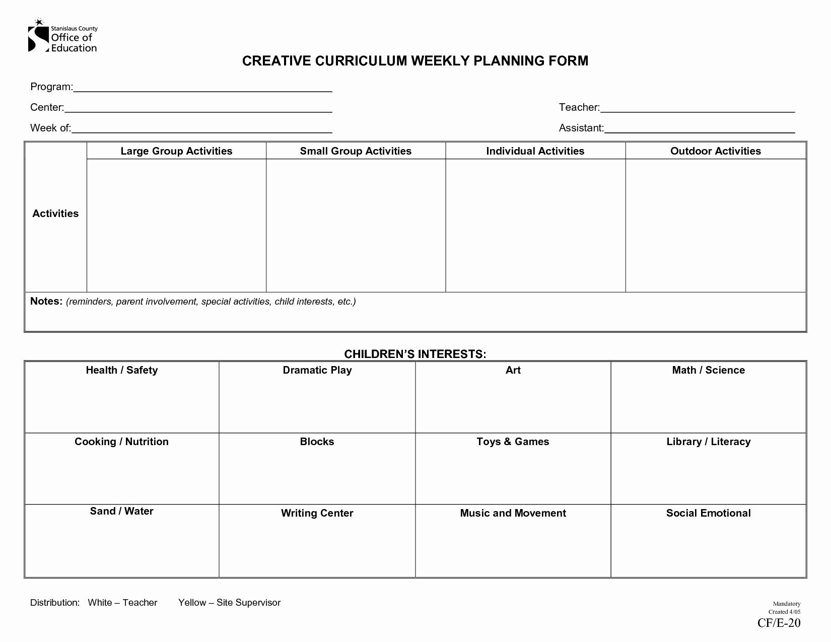 Weekly Lesson Plan Templates Free Awesome Weekly Lesson Plan for toddlers