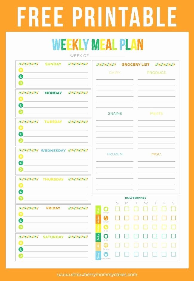 Weekly Meal and Snack Planner Awesome 1000 Ideas About Weekly Meal Planner On Pinterest