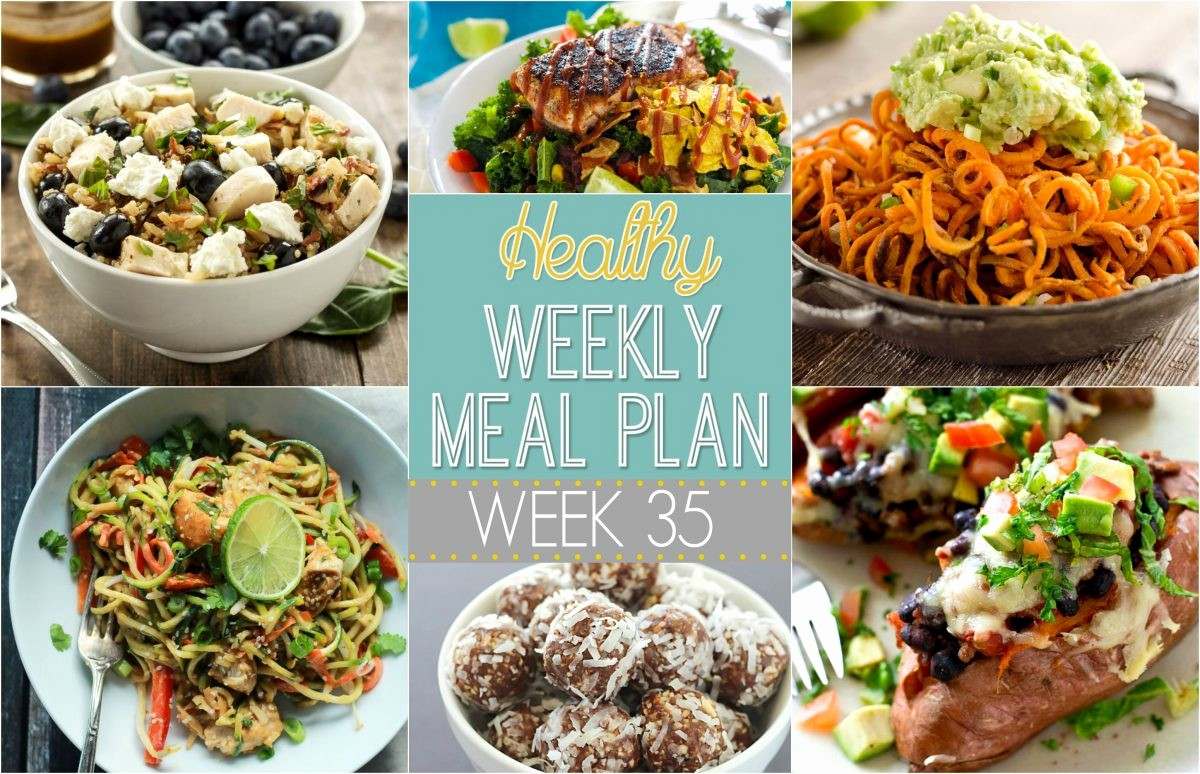 Weekly Meal and Snack Planner Inspirational Healthy Weekly Meal Plan