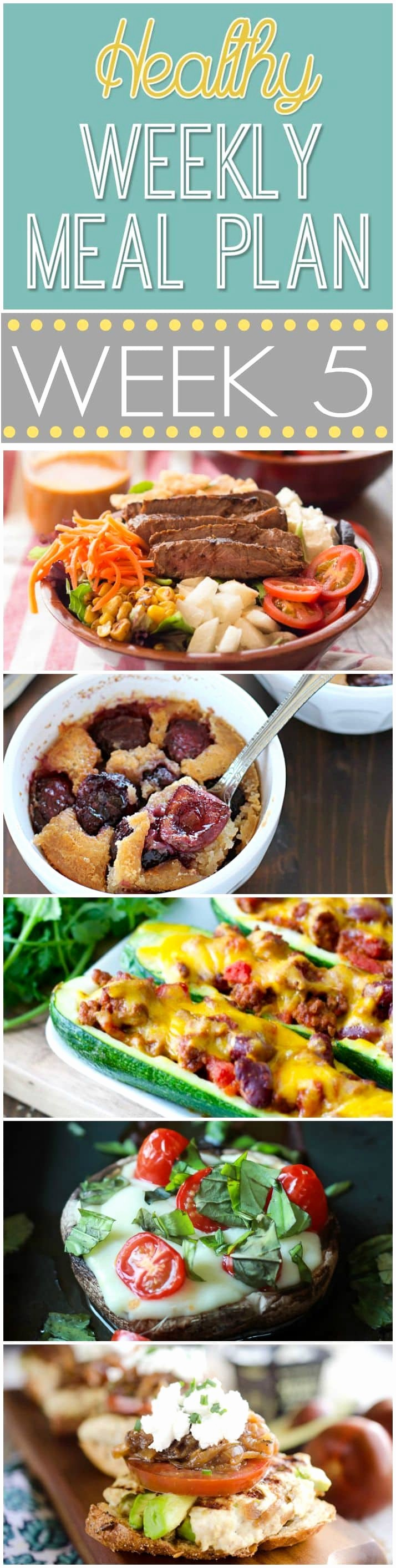 Weekly Meal and Snack Planner New Healthy Weekly Meal Plan 5 Yummy Healthy Easy
