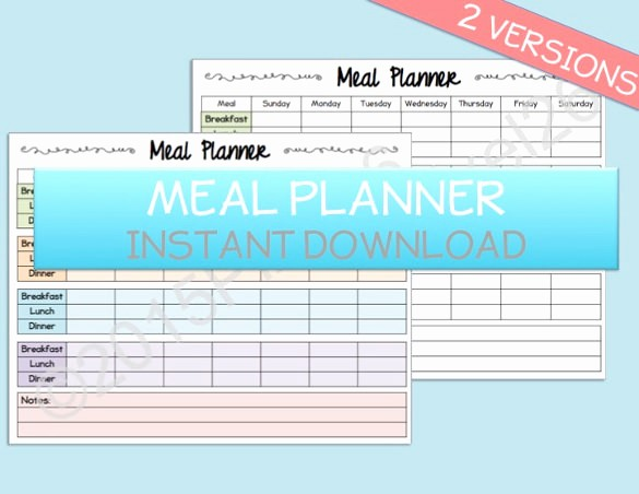 Weekly Meal Planner Template Pdf Best Of Weekly Menu Template – 20 Free Psd Eps format Download