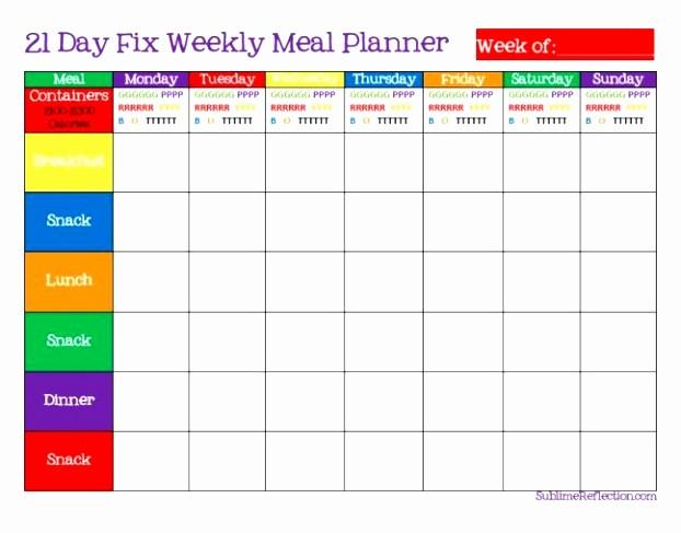 Weekly Meal Planner Template Pdf Lovely 5 Weekly Diet Plan Template Uieoe