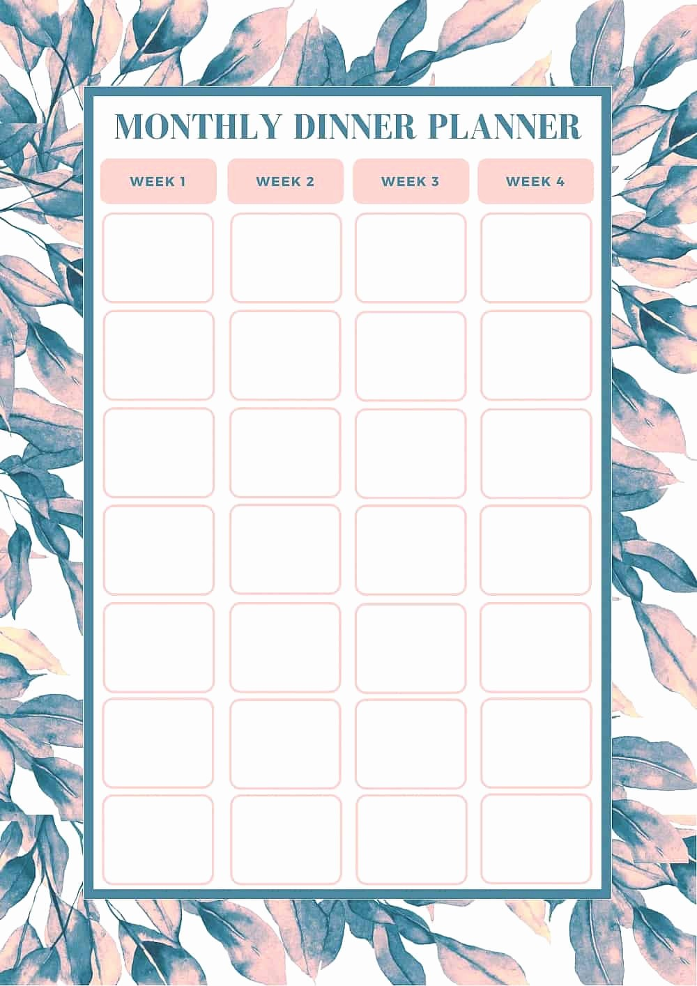 Weekly Meal Planning Template Free Awesome Free Monthly Meal Planning Template Bake Play Smile