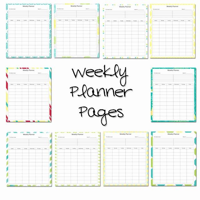 Weekly Planner Template for Teachers Elegant Lawteedah Weekly Lesson Planner