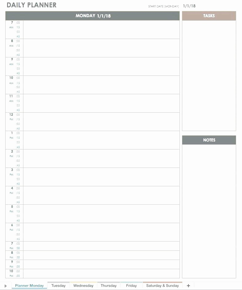 Weekly Planner Template for Teachers Fresh Blank Daily Schedule Template for Teachers Editable School