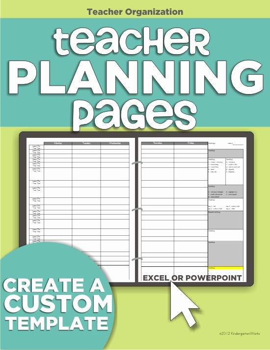 Weekly Planning Template for Teachers Best Of Teacher organization 5 Must Have Printables