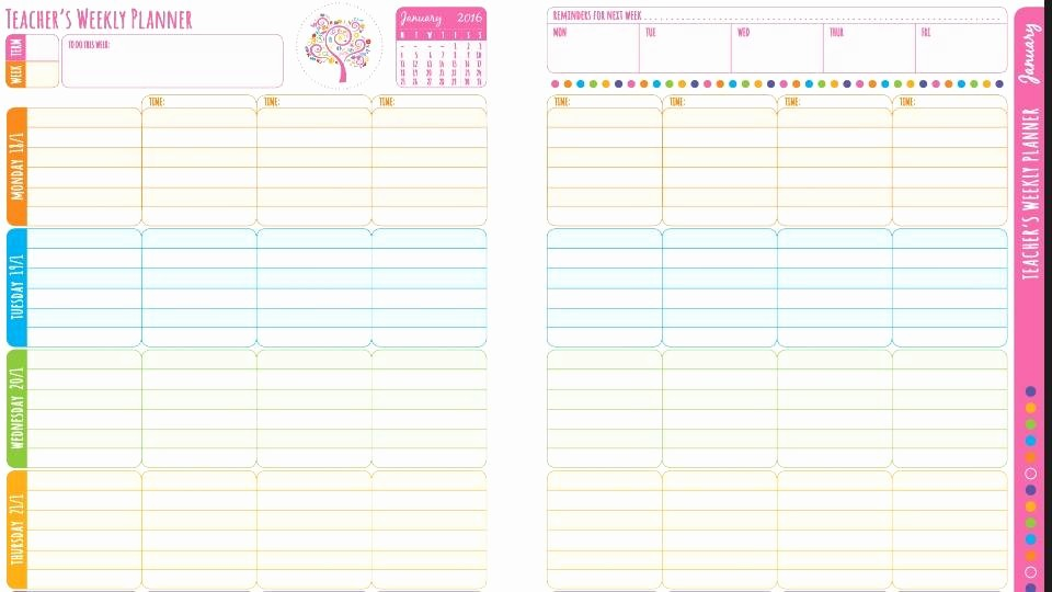 Weekly Planning Template for Teachers Best Of where Can I Get A Teacher Planner