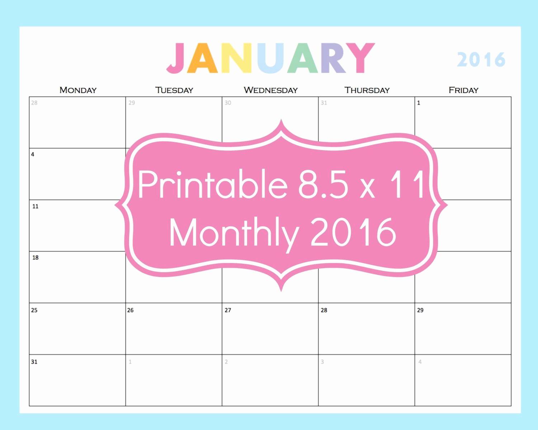 Weekly Planning Template for Teachers Elegant Printable Calendar 5 Day Calendar 5 Day Weekly Planner