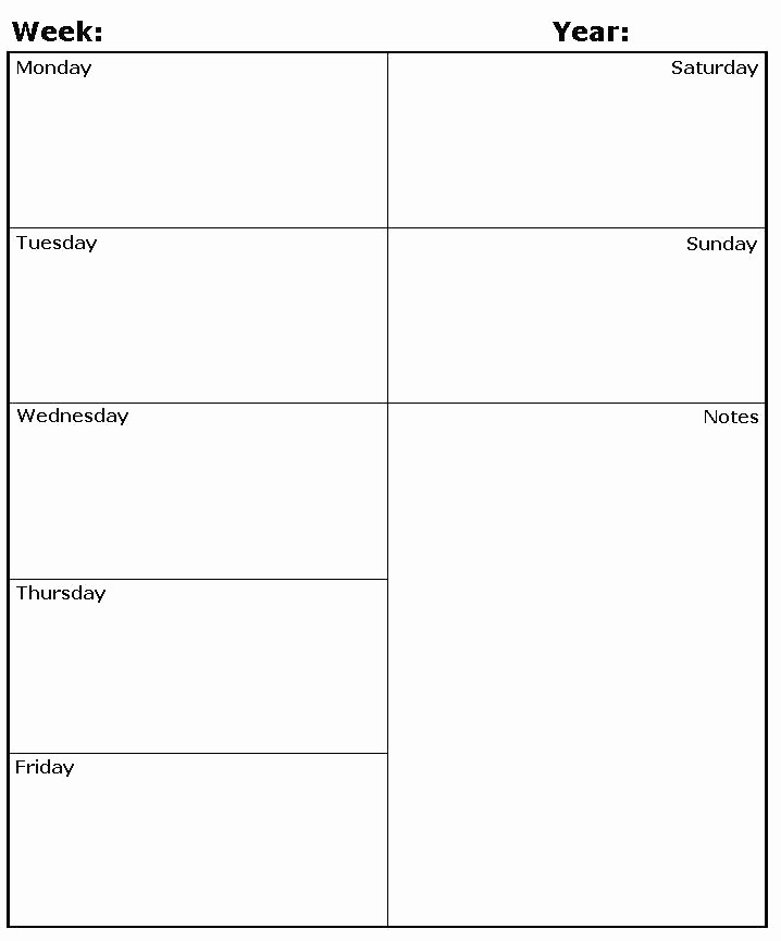 Weekly Planning Template for Teachers Luxury Teacher Timetable Template Daily Schedule Resume Weekly