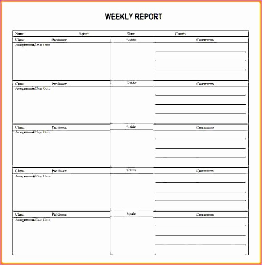 Weekly Sales Call Report Template New 9 Excel Call Log Template Exceltemplates Exceltemplates