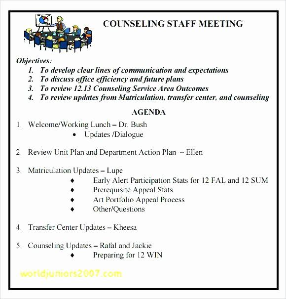 Weekly Staff Meeting Agenda Template Luxury Staff Meeting Agenda Template Employee Childcare Weekly