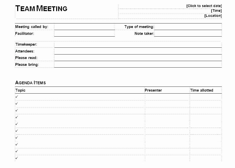 Weekly Team Meeting Agenda Template Inspirational Weekly Team Meeting Agenda Template format Staff Childcare