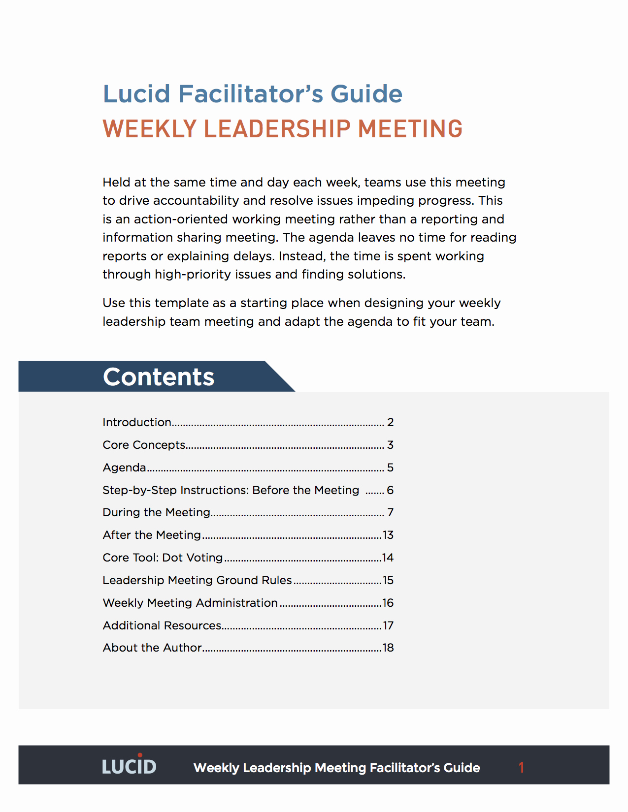 Weekly Team Meeting Agenda Template New Weekly Leadership Team Meeting