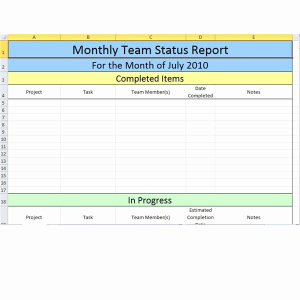 Weekly Team Status Report Template Awesome Bright Hub S Free Project Management Execution Templates