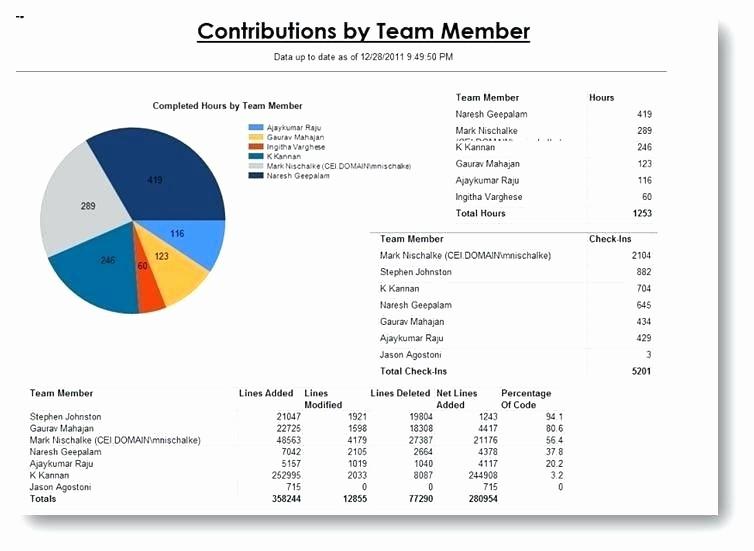 Weekly Team Status Report Template Fresh Team Report Template Monthly Project Report Template Team