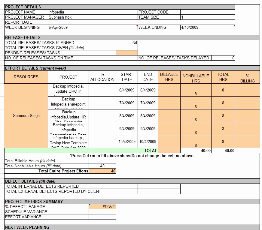 Weekly Team Status Report Template Unique Weekly Status Report Template Professional Business