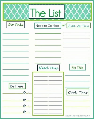 Weekly Things to Do List Awesome 7 Best Of Daily Printable Weekly to Do List Free