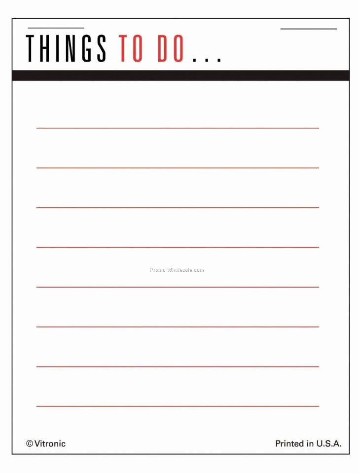 Weekly Things to Do List Beautiful Template List Things to Do