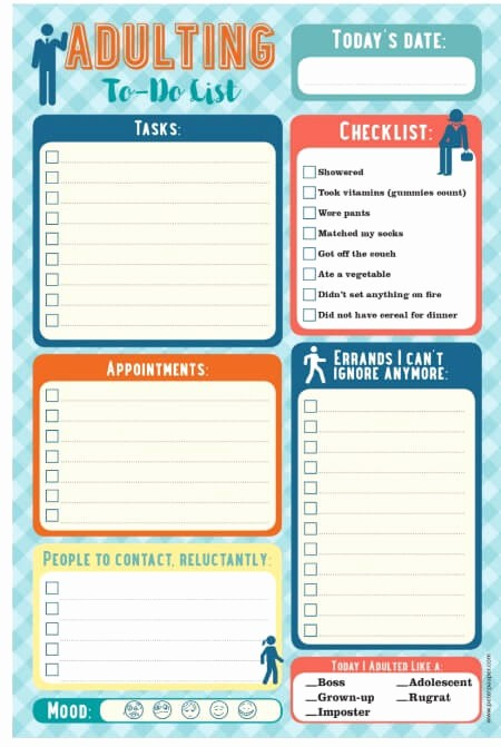 Weekly Things to Do List Fresh 15 Perfect Paper to Do Lists for Busy Moms Mom 6