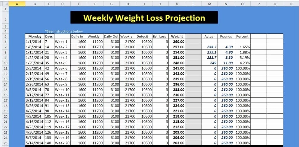 Weight Loss Challenge Chart Template Luxury 9 Weight Loss Challenge Spreadsheet Templates Excel