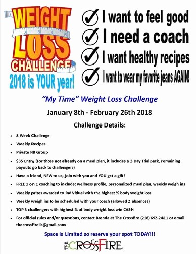 Weight Loss Challenge Flyer Template Best Of Pany Weight Loss