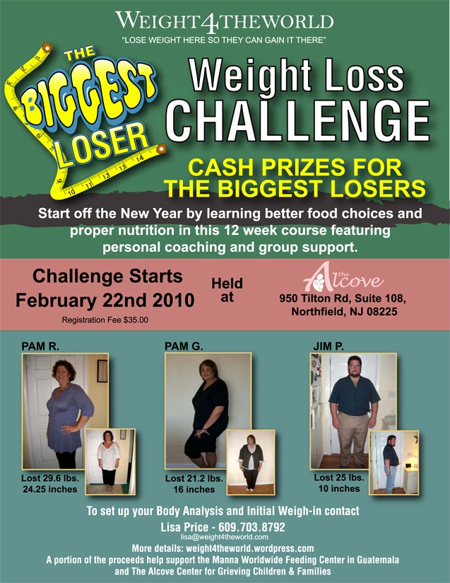 Weight Loss Challenge Flyer Template Luxury Weight Loss Challenge