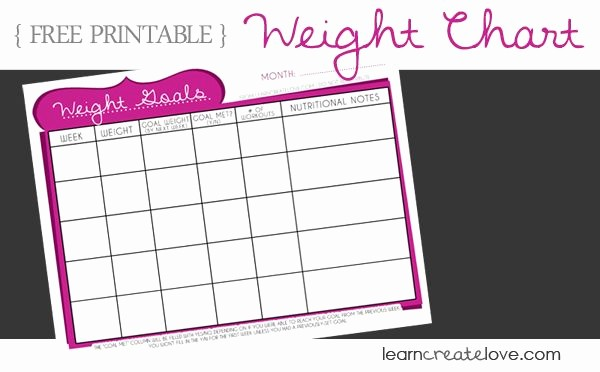 Weight Loss Chart for Women Inspirational Cute Weight Loss Charts Google Search