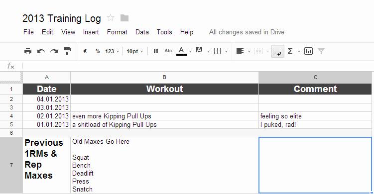 Weight Loss Spreadsheet Google Docs Fresh Workout Spreadsheet Google Docs