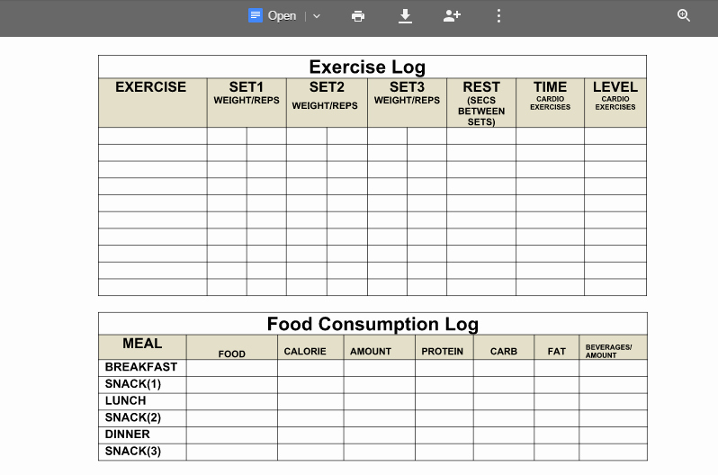 Weight Loss Spreadsheet Google Docs Unique Weight Loss Articles