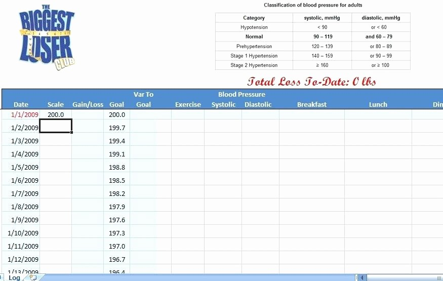 Weight Loss Tracker Excel Spreadsheet Inspirational Weight Loss Percentage Calculator Excel Template Chart