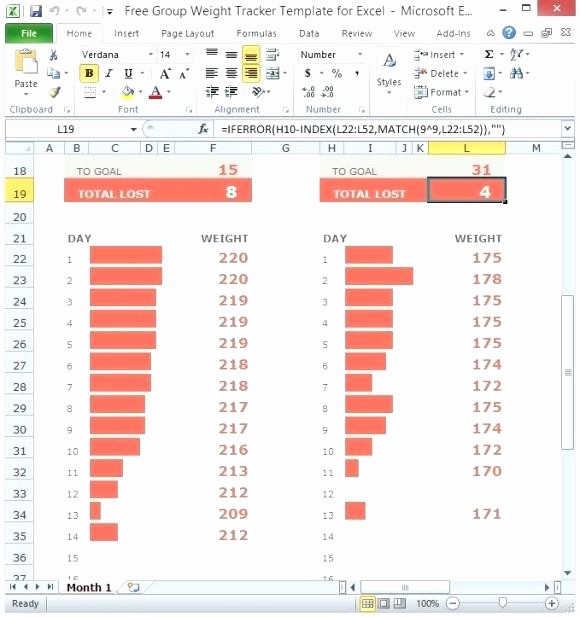 Weight Loss Tracker Excel Spreadsheet Lovely Weight Loss by Percentage Spreadsheet – Kundo
