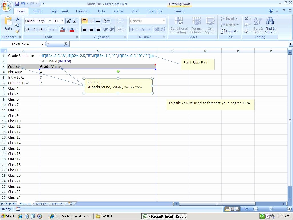 Weighted Grade Calculator Excel Template Lovely 30 Awesome Weighted Grade Calculator Excel