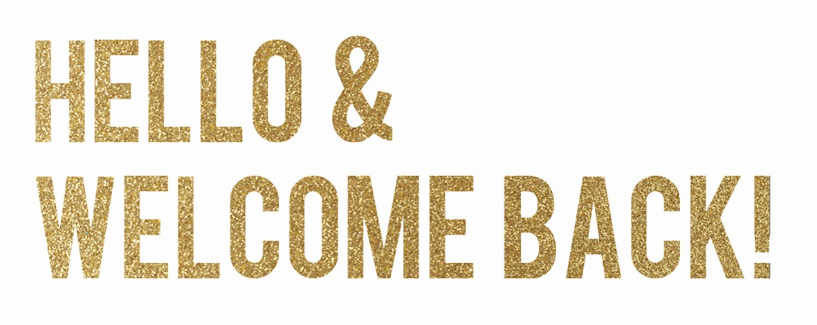Welcome Back Sign to Print Awesome Citta Design Blog January 2012