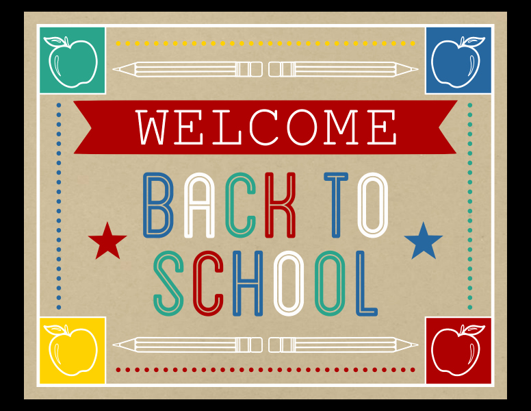 Welcome Back Sign to Print Fresh Free Back to School Party Printables From Printabelle