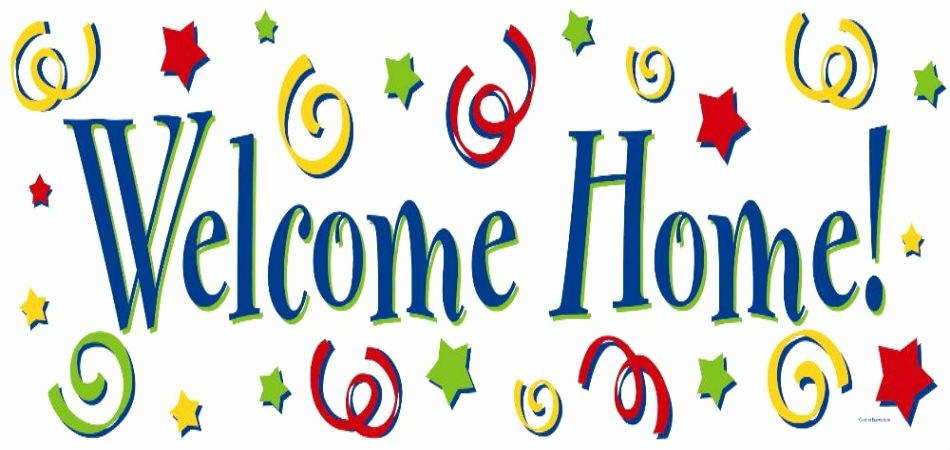 Welcome Back Sign to Print Fresh Wel E Home Banner Huston Tillotson
