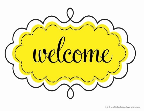 Welcome Back Sign to Print Lovely Printable Wel E Sign Let S Creative