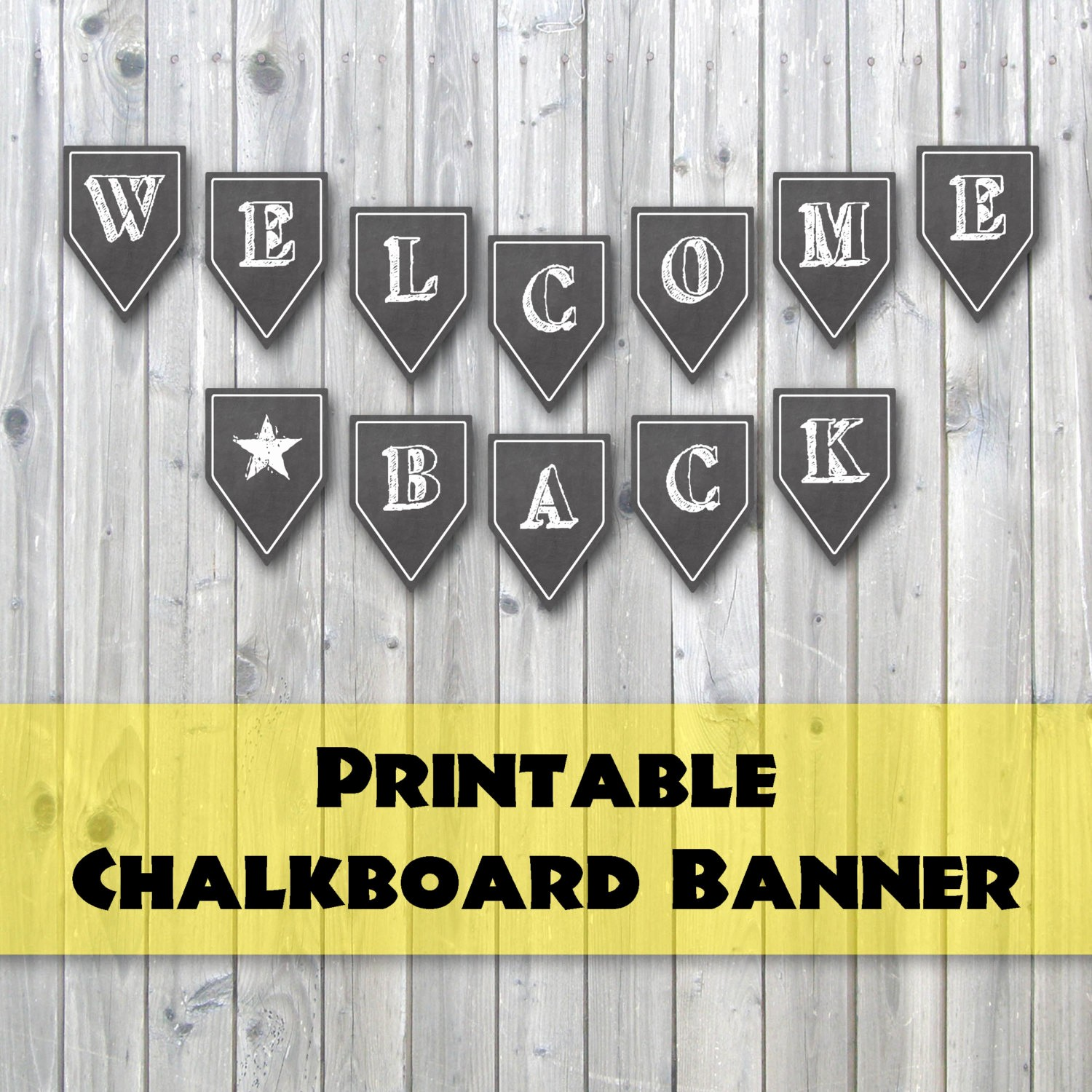 Welcome Back Sign to Print Luxury Wel E Back Chalkboard Design Printable Banner Back to