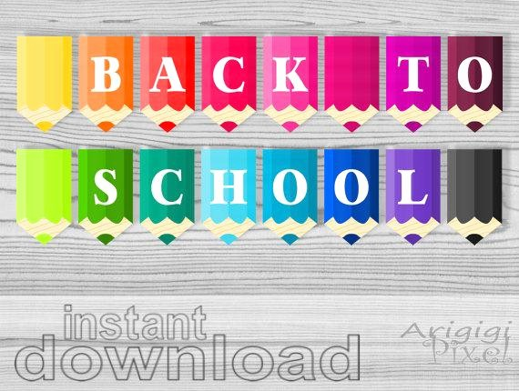 Welcome Back Sign to Print New Back to School Classroom Banners Printable Banners